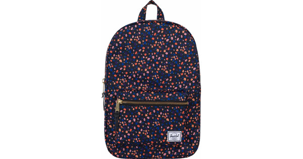Herschel Settlement Mid-Volume Black Mini Floral