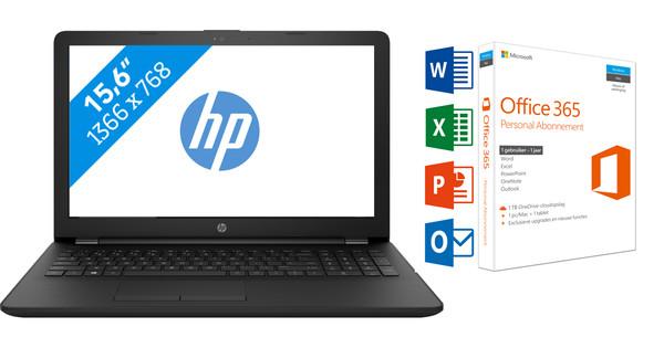 HP 15-BW090ND + Office 365 1 jaar