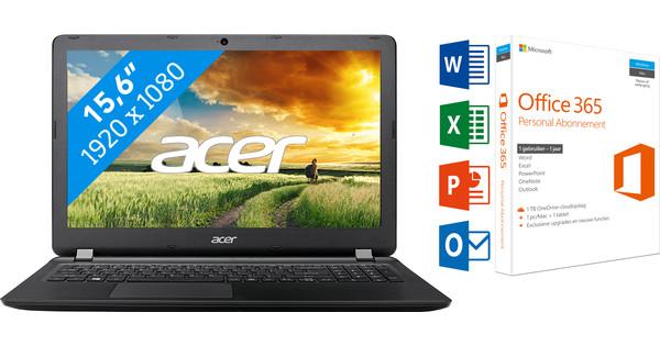 ACER ASPIRE ES1-523-81VF + Office 365 1 jaar