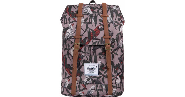 Herschel Retreat Brindle Parlour/Tan Synthetic Leather