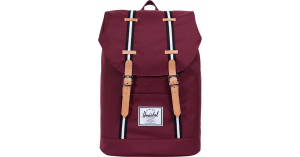 Herschel Offset Retreat Windsor Wine/Veggie Tan Leather