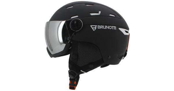 Brunotti Wakefield 1 Unisex Black + Orange Mirror Vizier (54 - 58 cm)