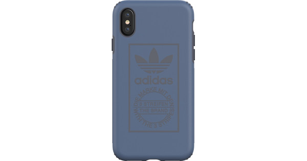 adidas Techink Apple iPhone X Back Cover Blue
