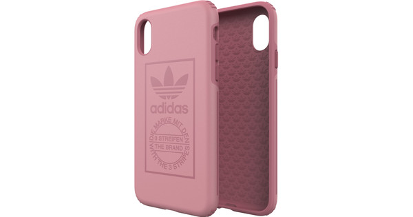 adidas Tactile Apple iPhone X Back Cover Roze
