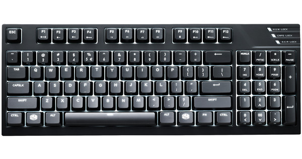 Cooler Master MasterKeys Pro M (Brown) QWERTY