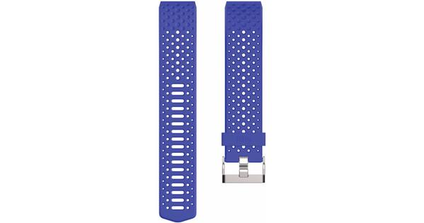 Fitbit Charge 2 Kunststof Horlogeband Blauw Large