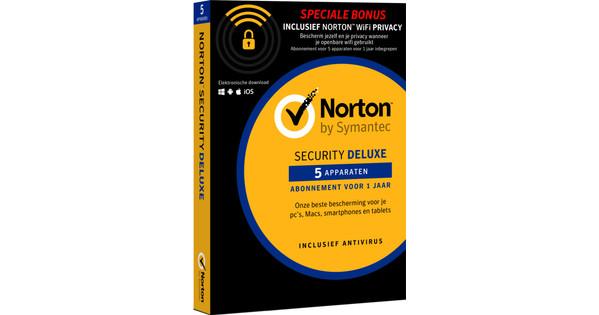 Norton Security 5D & WiFi Privacy 5D
