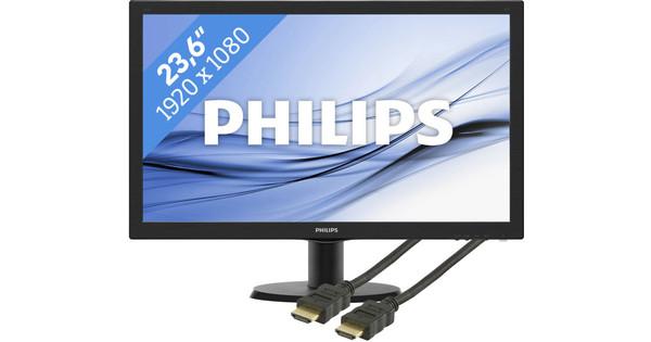 Philips 243V5LHAB + HDMI kabel