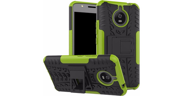 huge discount 0fd4e 7b52f Just in Case Rugged Hybrid Motorola Moto E4 Plus Back Cover Groen