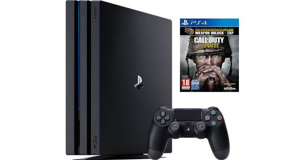 Sony PlayStation 4 Pro 1 TB COD WWII Bundel