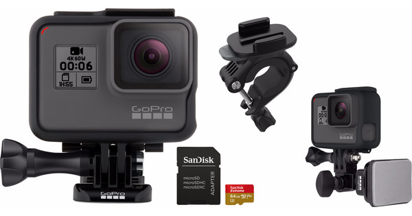 Motor- en fietskit - GoPro HERO 6 Black