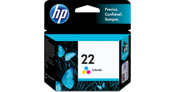 HP 22 Combo Pack Tri-color (HPC9352A)