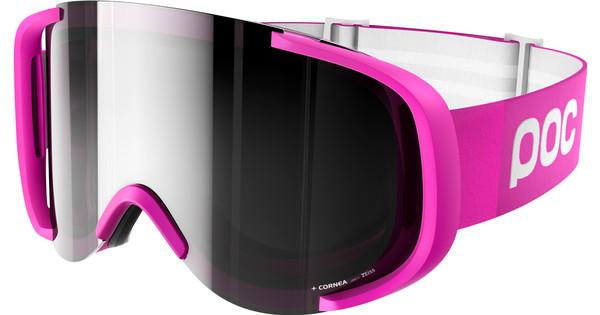 POC Cornea Fluorescent Pink + Bronze Silver Mirror Lens
