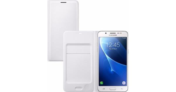Samsung Galaxy J5 (2016) Flip Wallet Wit