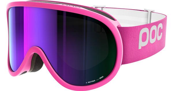 POC Retina Ethylene Pink + Grey Purple Mirror Lens