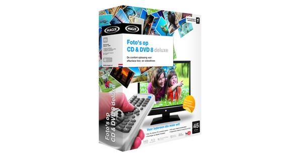 Magix Foto's op CD & DVD 8 0 Deluxe Windows 7 Relaunch