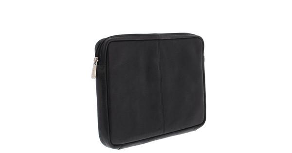 Plevier Lederen Laptop Sleeve 12'' Zwart