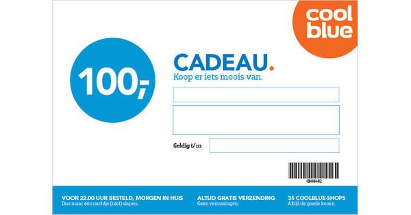 e198a11692a0a9 Coolblue Cadeaubon 100 euro - Coolblue - Voor 23.59u, morgen in huis