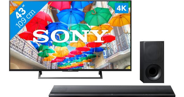Sony KD-43XE8005 + Sony HT-CT390
