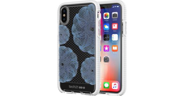 Tech21 Evo Check Evoke Apple iPhone X / Xs Back Cover Blue