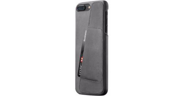 Mujjo Leather Wallet Apple iPhone 7 Plus/8 Plus Back Cover Gray