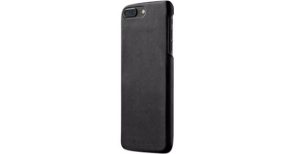 Mujjo Leather Apple iPhone 7 Plus / 8 Plus Back Cover Black
