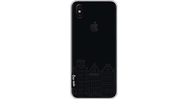 Casetastic Softcover Apple iPhone X Amsterdam Canal Houses