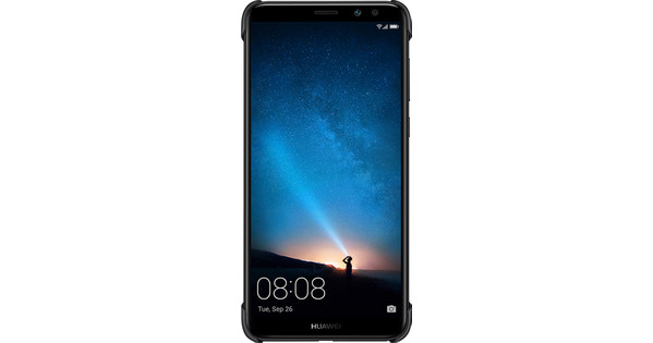 Huawei Mate 10 Lite PC Back Cover Black