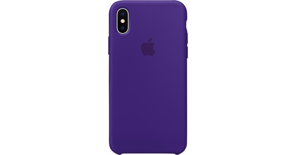 detailed look 3cb79 c7086 Apple iPhone X Silicone Back Cover Ultra Violet