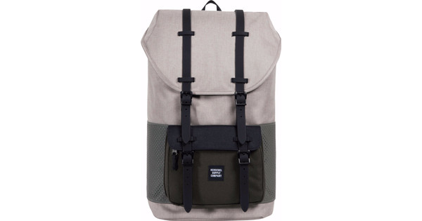 Herschel Little America Khaki Cros/Forest Night