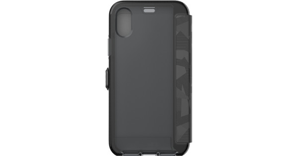 huge selection of 54a86 98094 Tech21 Evo Wallet Apple iPhone X/Xs Book Case Black