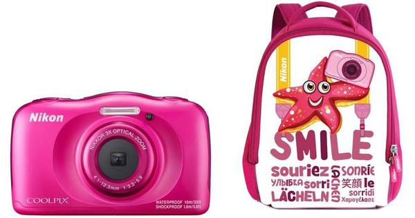Nikon Coolpix W100 Backpack kit Pink