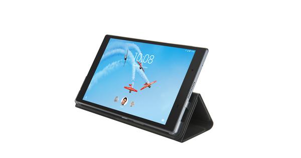 Lenovo TAB4 8 Plus Folio Case en Screenprotector Zwart