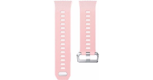 Just in Case Fitbit Ionic Siliconen Horlogeband Roze