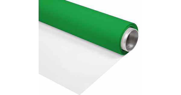 Bresser vinyl groen wit mat m rol achtergrond coolblue