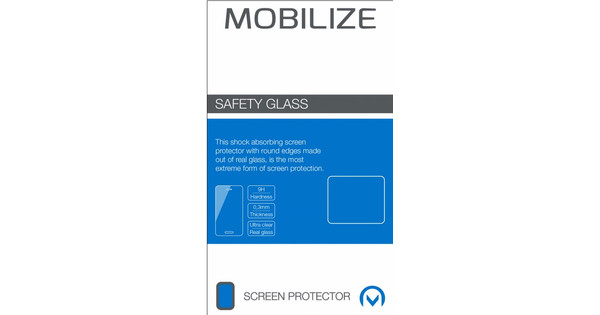 Mobilize Safety Glass Nokia 7 Plus Screen Protector Glass