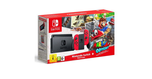 Nintendo Switch Super Mario Odyssey Bundel Coolblue Voor 2359u