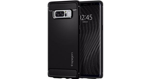 Spigen Rugged Armor Samsung Galaxy Note 8 Back Cover Black
