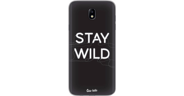 Casetastic Softcover Samsung Galaxy J7 (2017) Stay Wild Neon