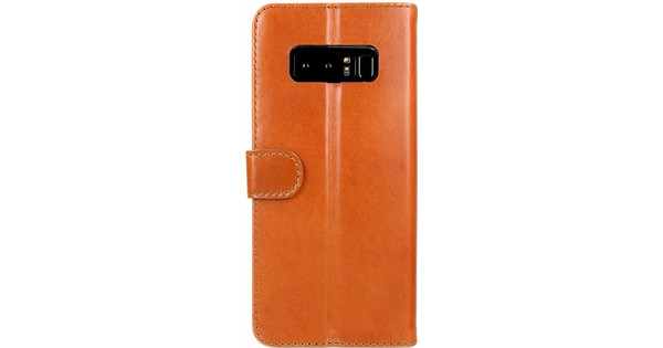 Valenta Booklet Classic Luxury Samsung Galaxy Note 8 Book Case Brown