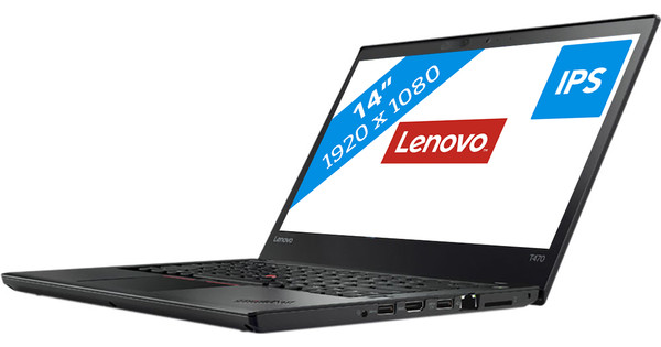 Lenovo Thinkpad T470 i5-8GB-256SSD