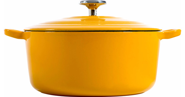 BK Bourgogne Braadpan 24 cm Sunset Yellow