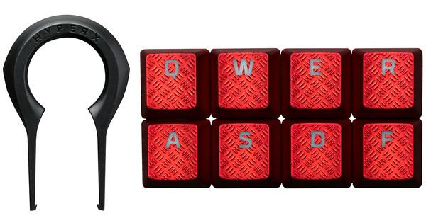 Kingston HyperX Gaming Keycaps Red