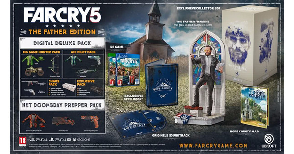 Far Cry 5 The Father Collector's Edition Edition PS4