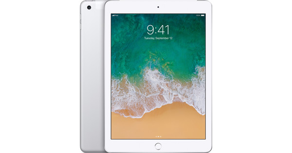 Apple iPad (2017) 128 GB Wifi + 4G Silver