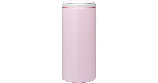 Brabantia Prullenbak Roze.Brabantia Flipbin 30 Liter Mineral Pink