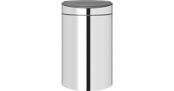 Brabantia Touch Bin 40 Liter Brilliant Steel