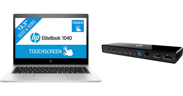 HP Elitebook 1040 G4 i7-16gb-512ssd + HP 3005pr USB 3 dock