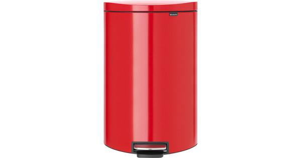 Brabantia FlatBack 40 Liter Passion Red