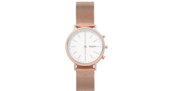 Skagen Hald Connected Hybrid Rose Gold Coolblue Before 23 59